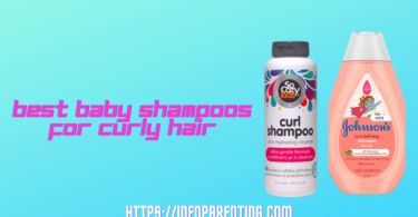 Best Baby Shampoos for Curly Hair-Infoparenting
