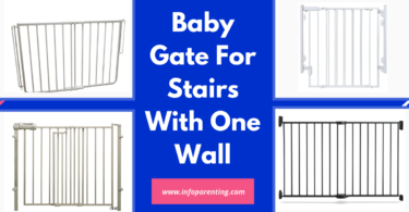 Baby Gate For Stairs With One Wall-Info parenting
