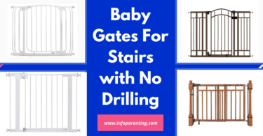Baby Gates For Stairs with No Drilling-Info parenting