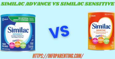 SIMILAC ADVANCE VS SIMILAC SENSITIVE