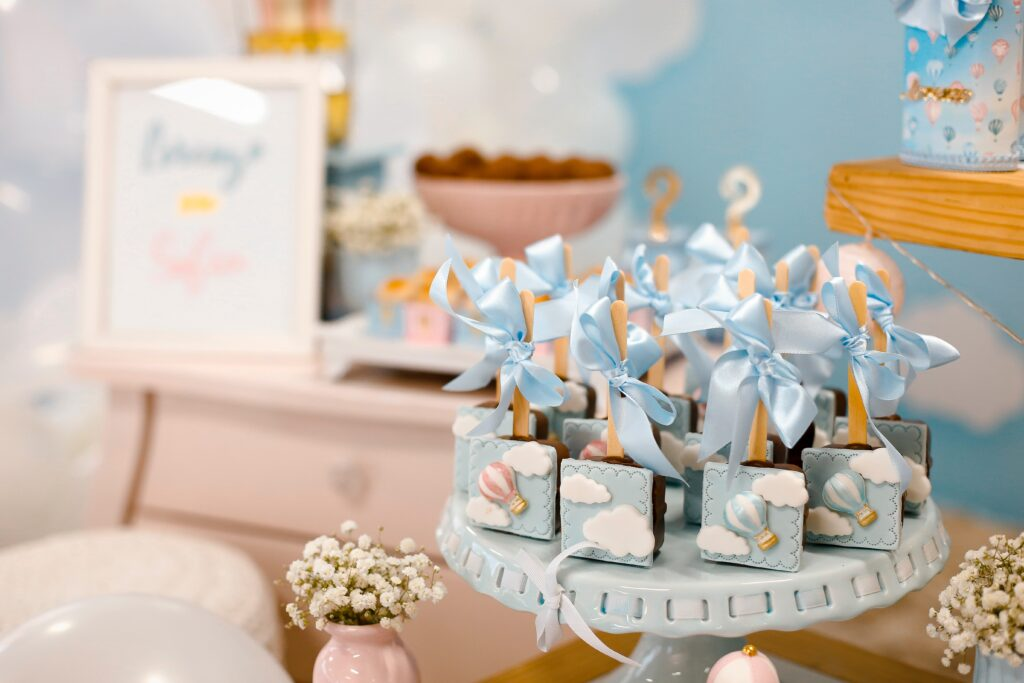 do dads go to baby showers